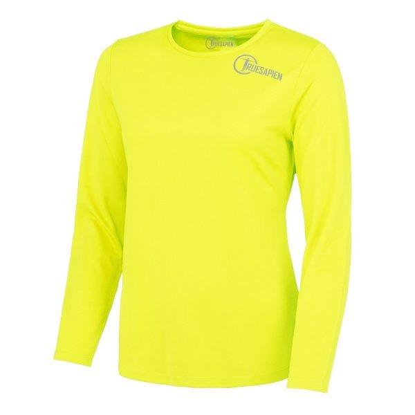 truesapien-hiviz-ladies-longsleeved-running-shirt