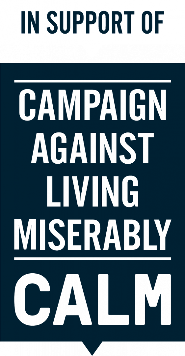 TrueSapien & Calm - Together Campaigning Against Living Miserably
