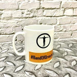 TrueSapien Band Of Orange Ceramic Mug