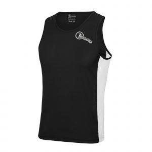 TrueSapien Men's Contrast Running / Fitness Vest