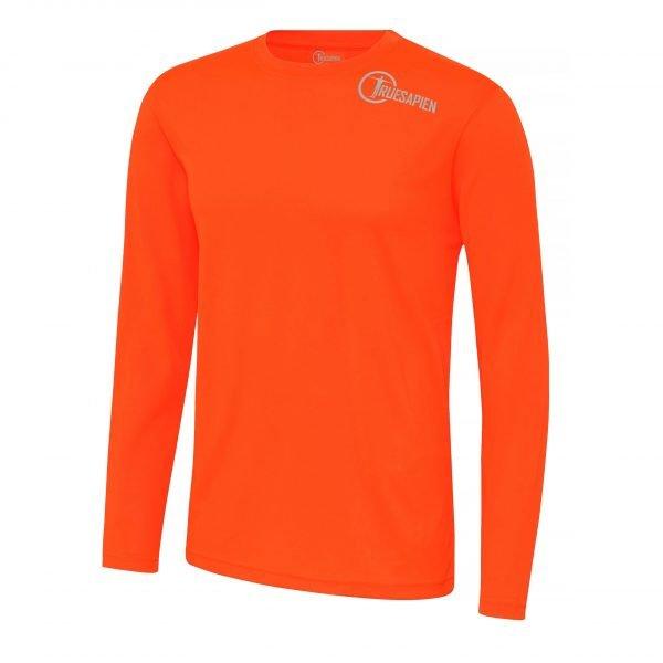 Hi-Viz Men's Long Sleeved Running Shirt