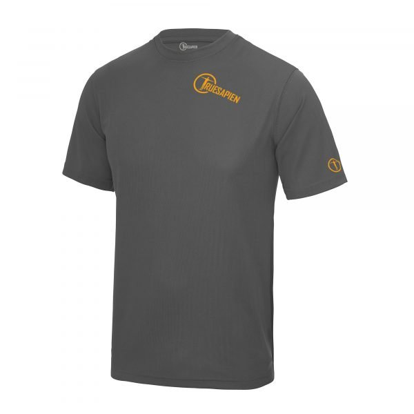 truesapien-mens-running-fitness-shirt-charcoal-orange